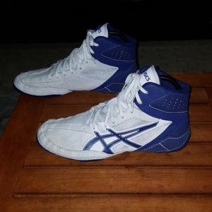 Asics Mens Matcontrol Wrestling shoes size 9.5
